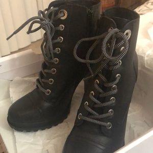 Biker Boots Heels